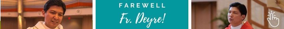 Farewell Fr Deyre