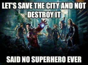 The Problem with Superheroes